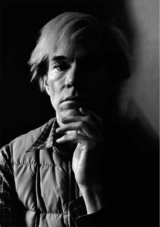Andy Warhol fotografato da Aurelio Amendola - Galleria degli Uffizi -  Firenze | Marzo -...