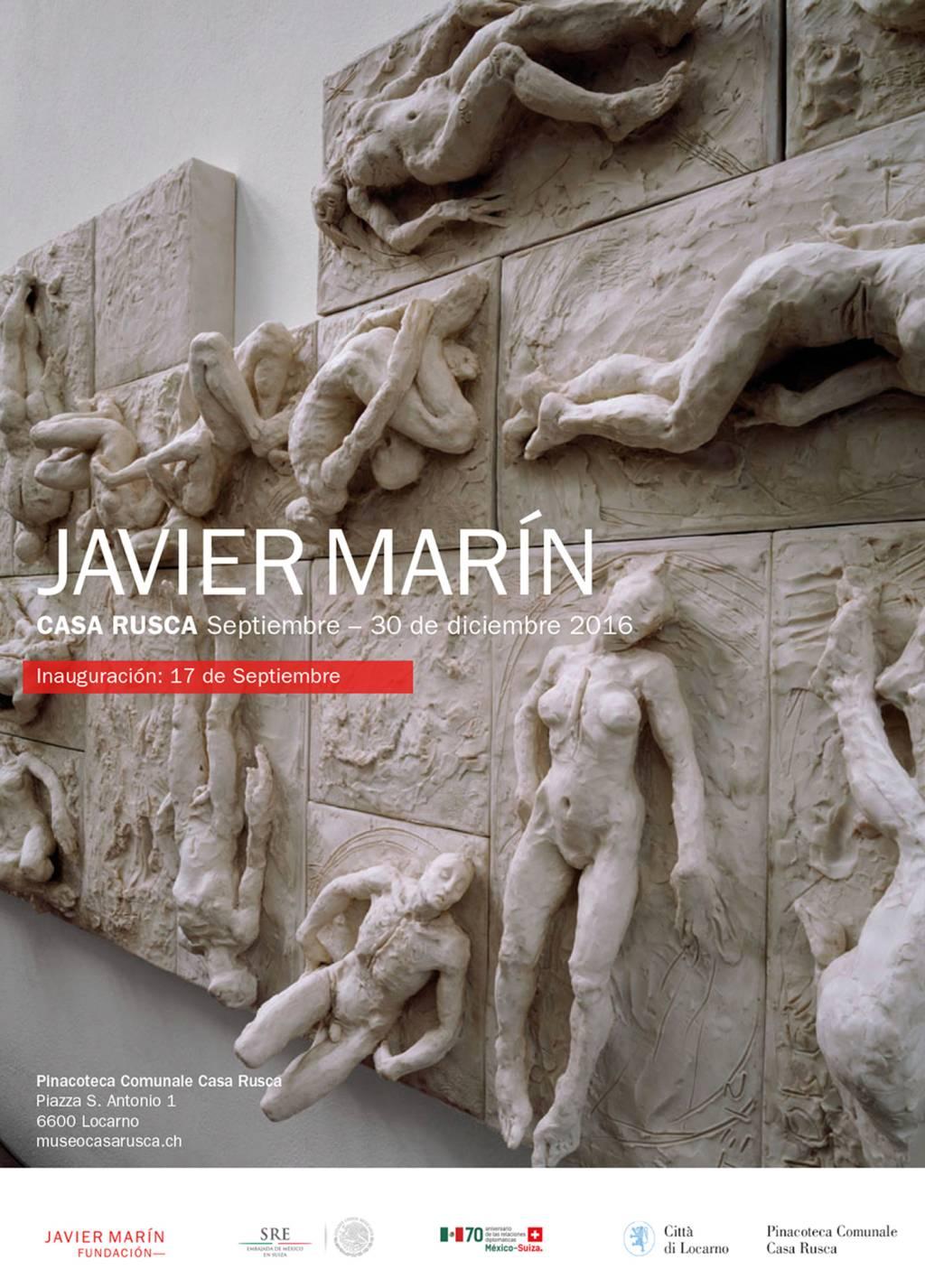 Javier Marìn - Pinacoteca comunale - Casa Rusca - Locarno | Settembre - Dicembre