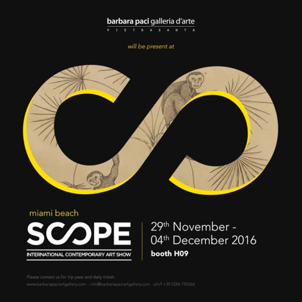 Scope Miami Art Fair 2016 - Miami Beach | Novembre - Dicembre 2016