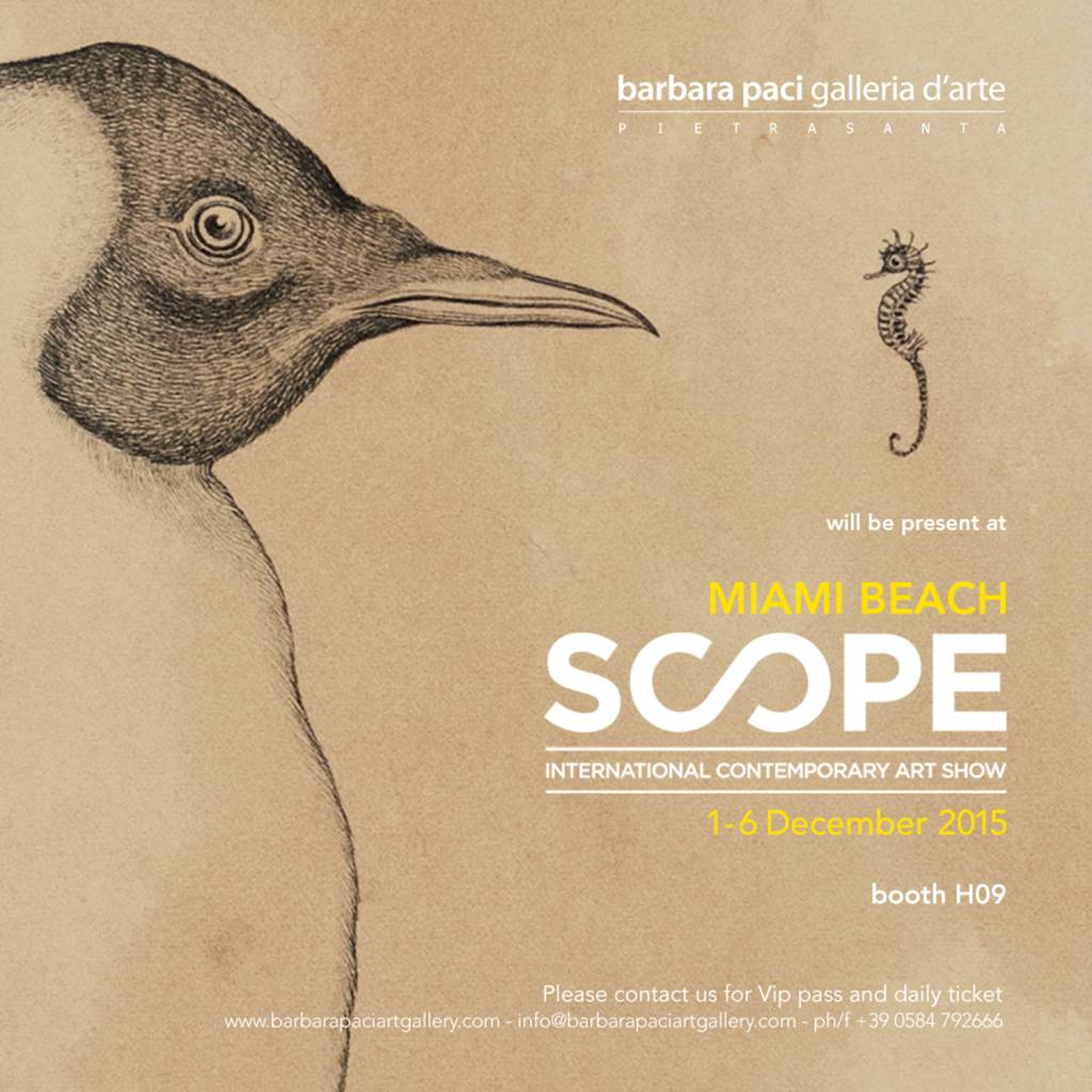 Scope Miami Art Fair 2015 - Miami Beach | Dicembre 2015