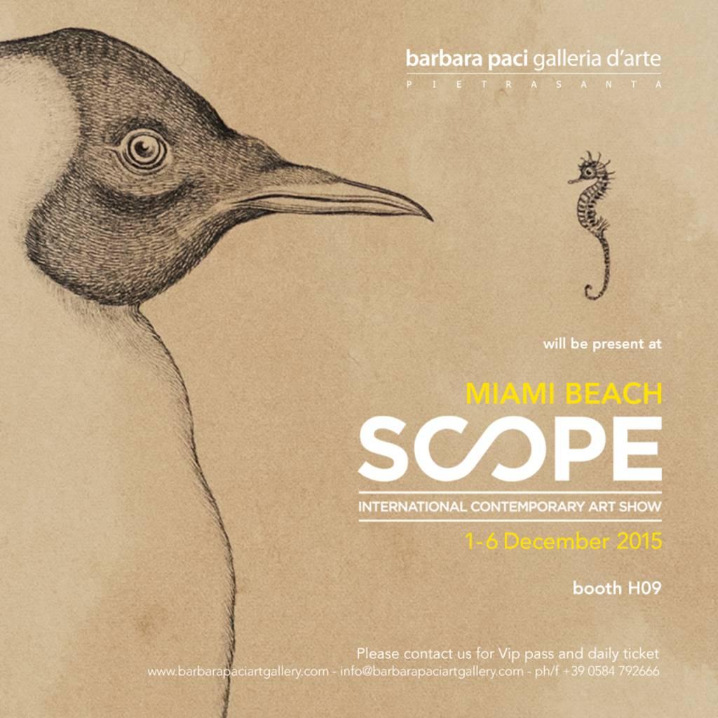 Scope Miami Art Fair 2015 - Miami Beach | Dicembre 2015