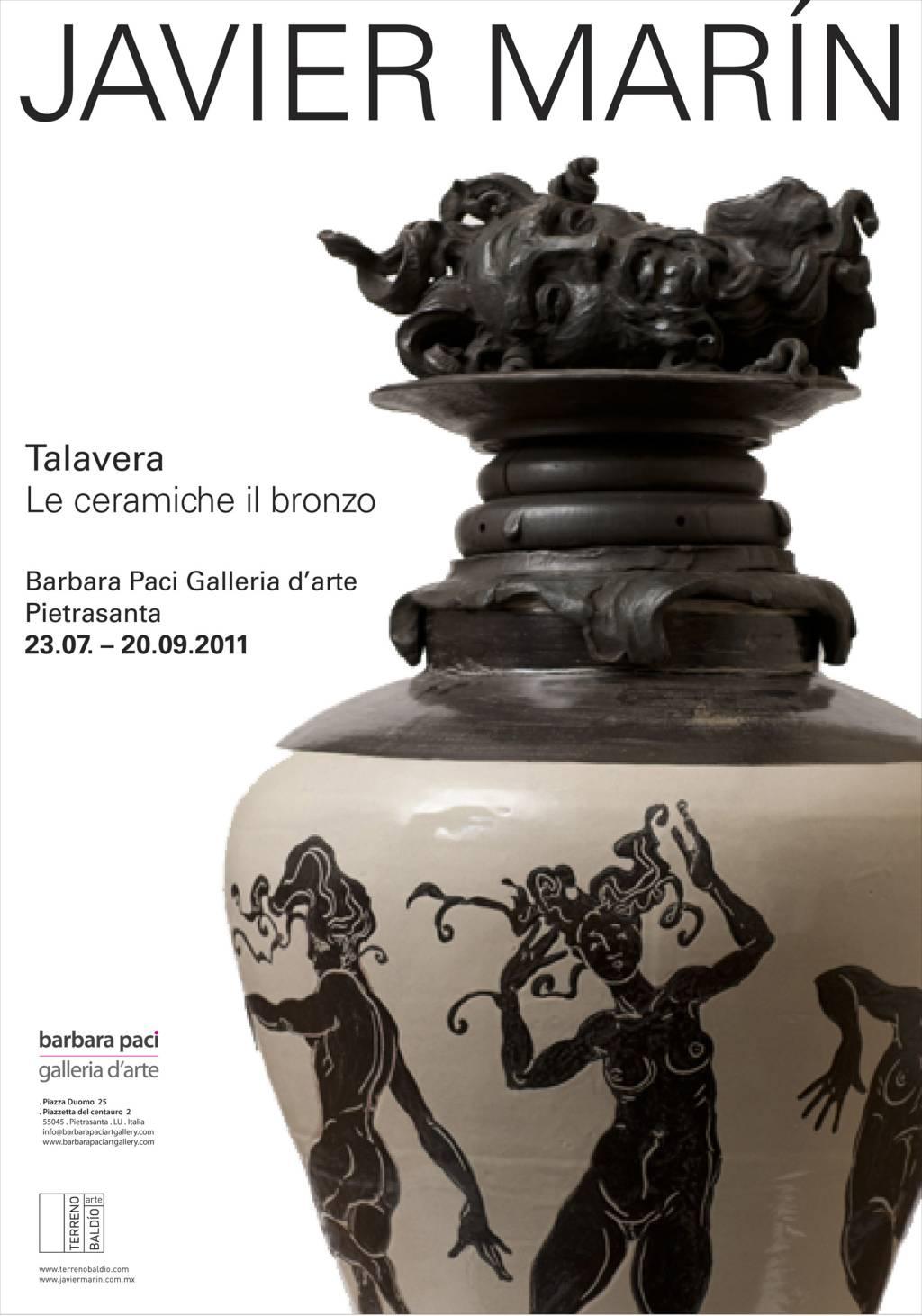 Javier Marìn - Talavera - Barbara Paci Galleria d