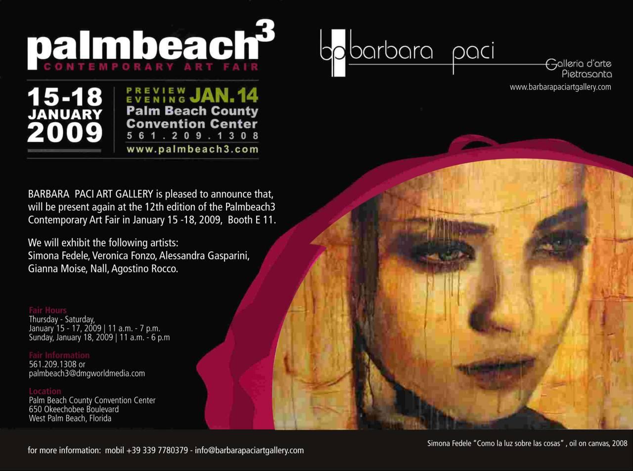 Palm Beach Art Fair 2009 - Palm Beach, USA | Gennaio 2009