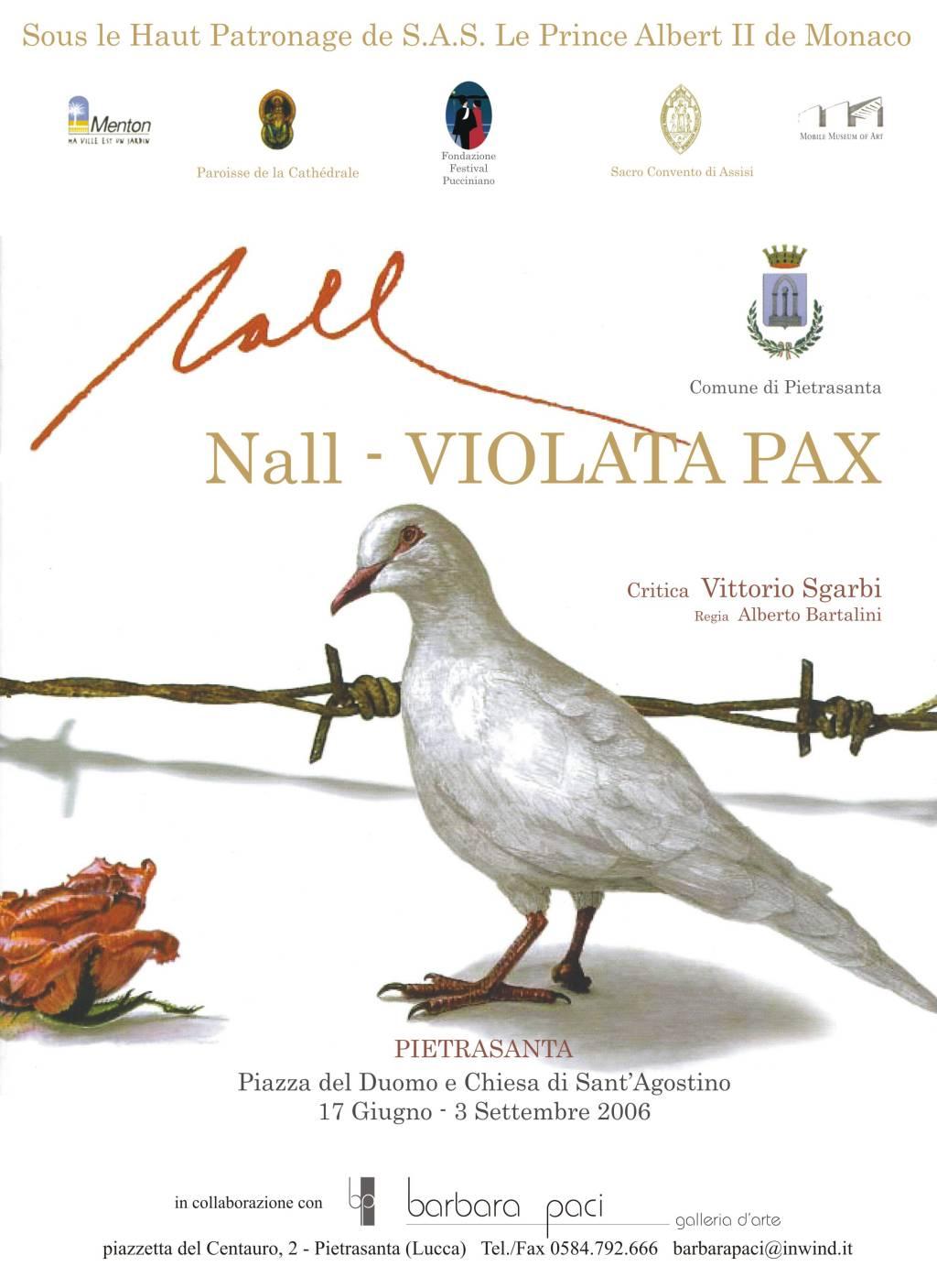 Nall - Violata Pax - Barbara Paci Galleria d