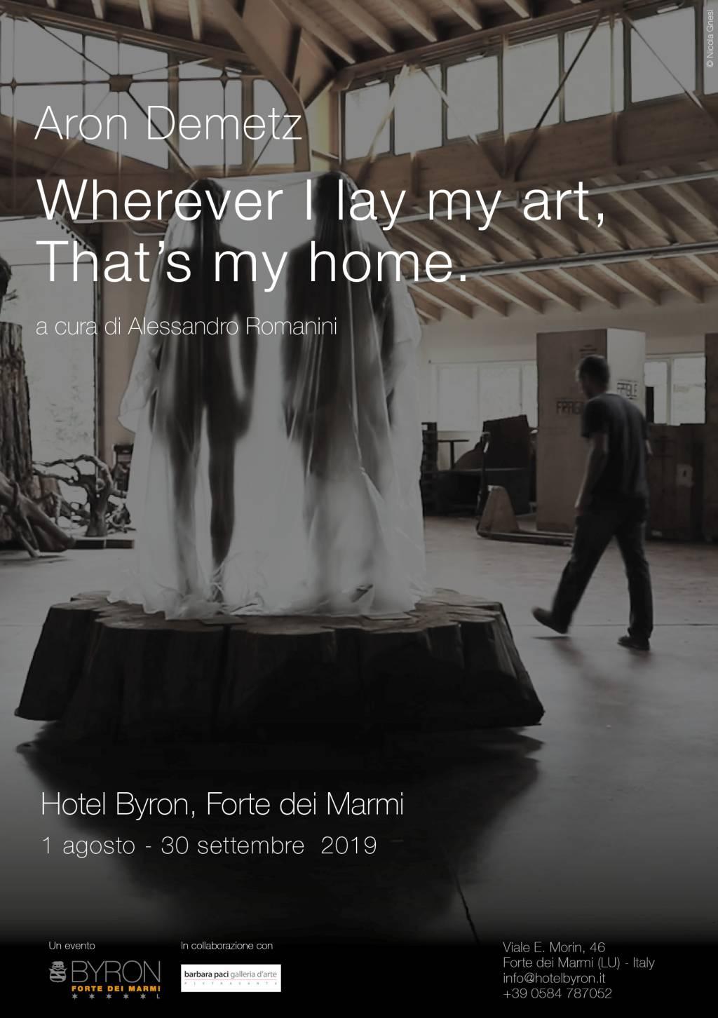 Aron Demetz - Hotel Byron - Forte dei Marmi | Agosto - Settembre 2019