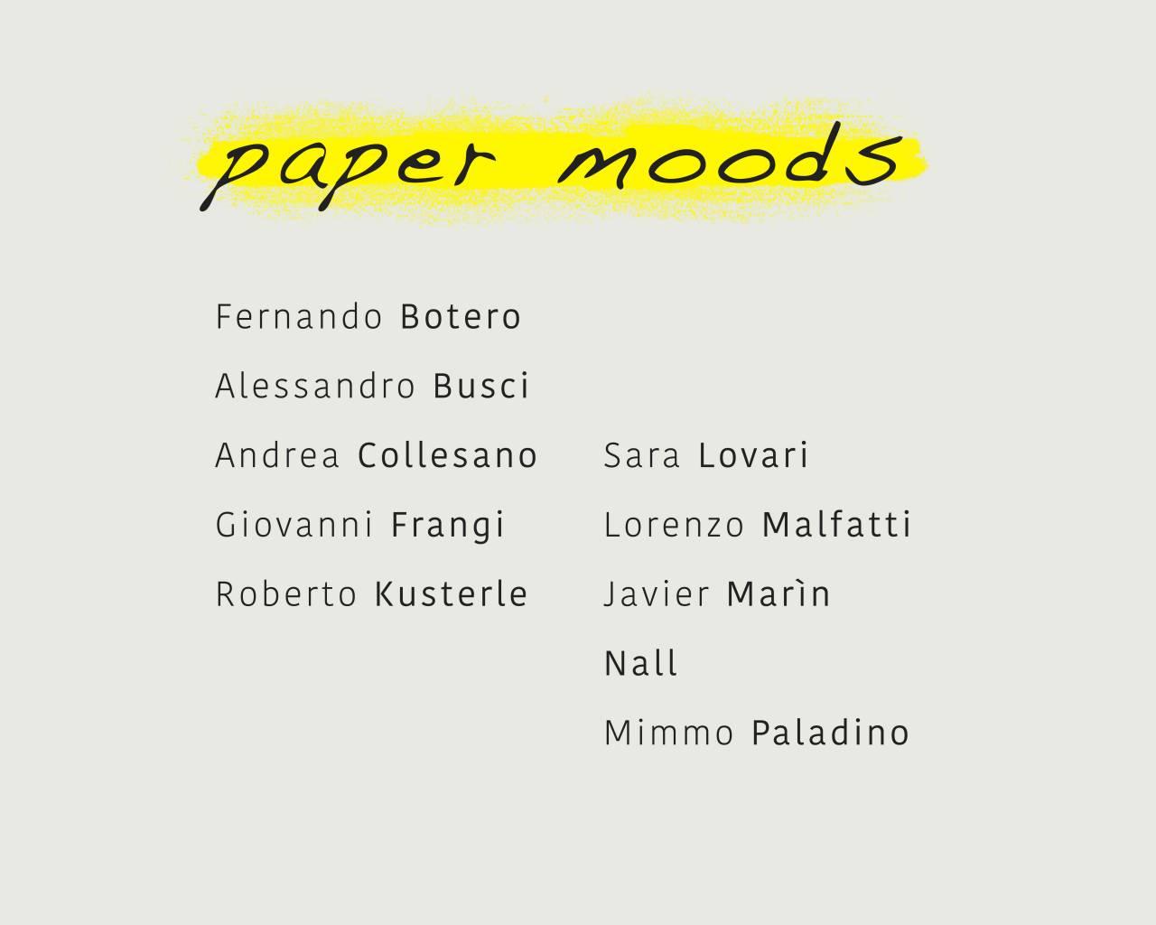 paper moods - Settembre - Ottobre 2020 - Galleria d